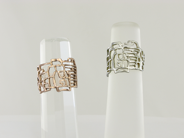 MONDRIAN Lace Rings